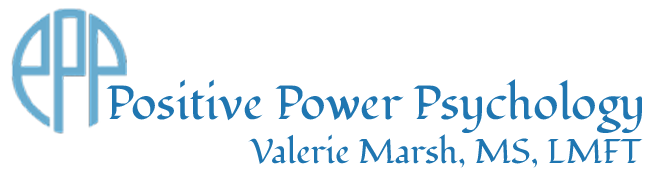 Positive Power Psychology logo | Valerie Marsh | Online Therapy & Coaching | Minnesota & Iowa